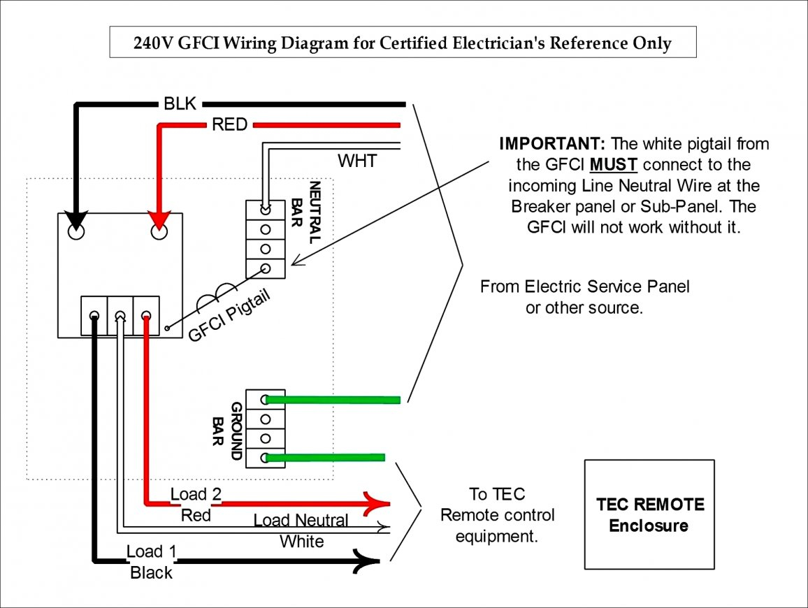 hight resolution of 240v plug wiring diagram wirings diagram trc gfci 240v gfci diagram