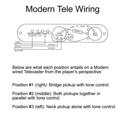 vintage versus modern telecaster wiring proaudioland musician news fender telecaster wiring diagram [ 900 x 900 Pixel ]