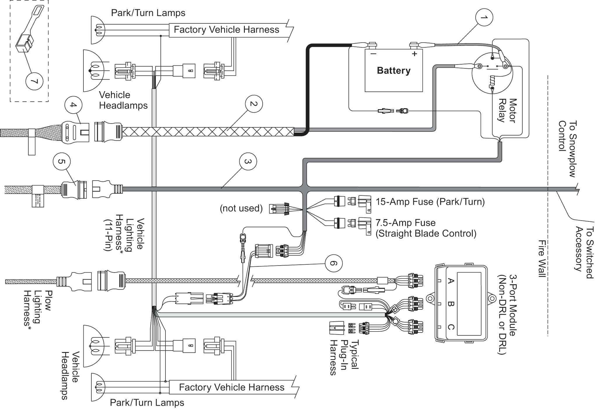 E60 Meyer Snow Plow Wiring Diagram