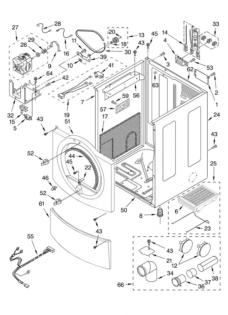 whirlpool duet dryer parts diagram whirlpool gas dryer parts