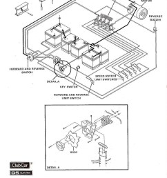 club car golf cart wiring diagram 36 volts [ 1000 x 1335 Pixel ]