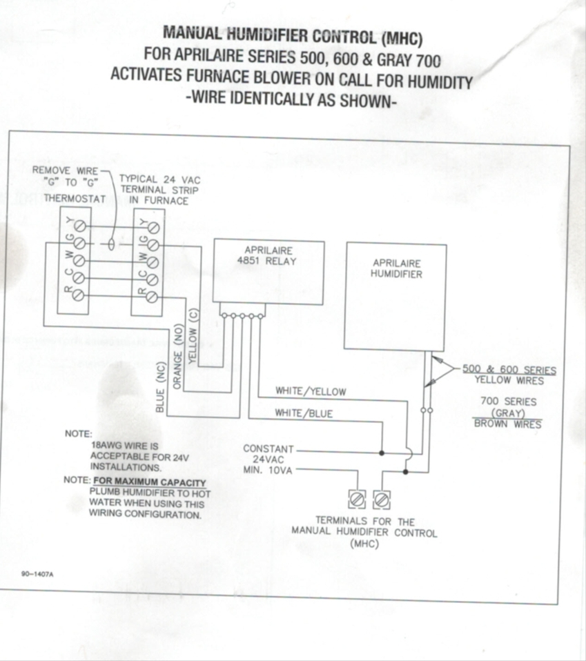hight resolution of  aprilaire 600 wiring diagram wirings diagram on gibson thermostat wiring arcoaire thermostat wiring