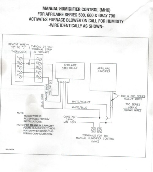 small resolution of  aprilaire 600 wiring diagram wirings diagram on gibson thermostat wiring arcoaire thermostat wiring