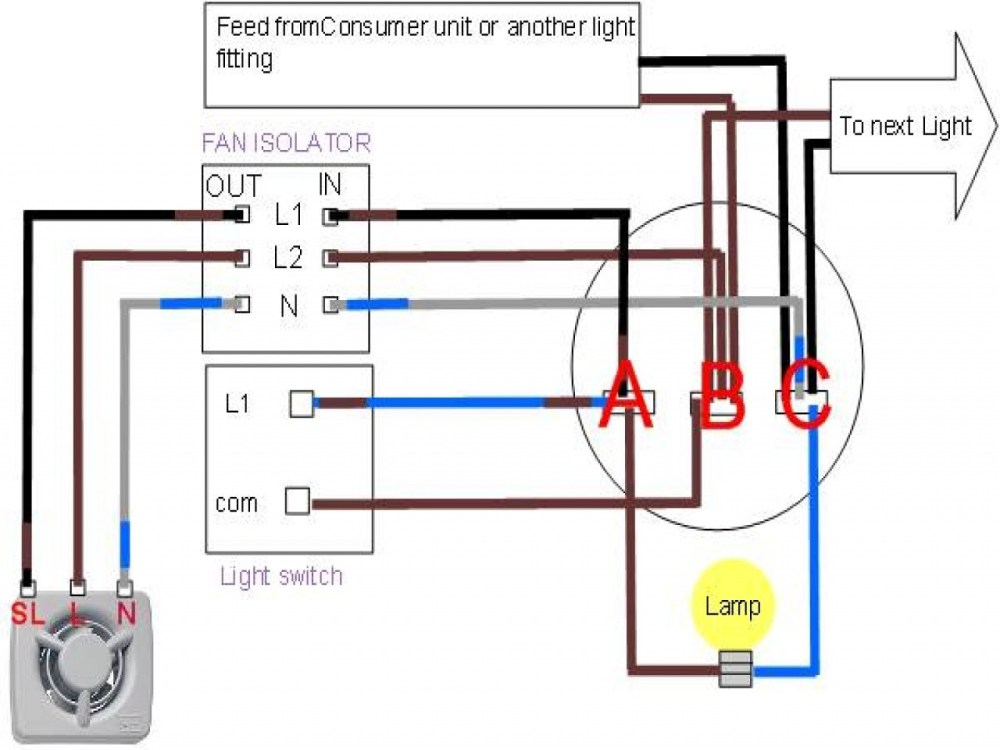 medium resolution of  wiring a bathroom fan and light diagram wirings diagram on ceiling fans with lights wiring
