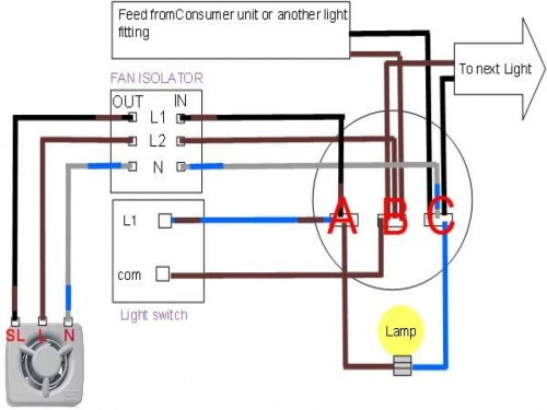 small resolution of  wiring a bathroom fan and light diagram wirings diagram on ceiling fans with lights wiring