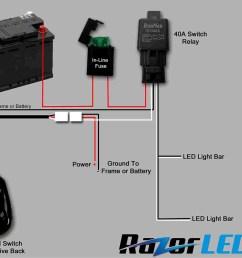 wiring diagram webtor bunch ideas of simple led rhbritishpantoorg autofeel light bar wiring diagram [ 1899 x 1519 Pixel ]