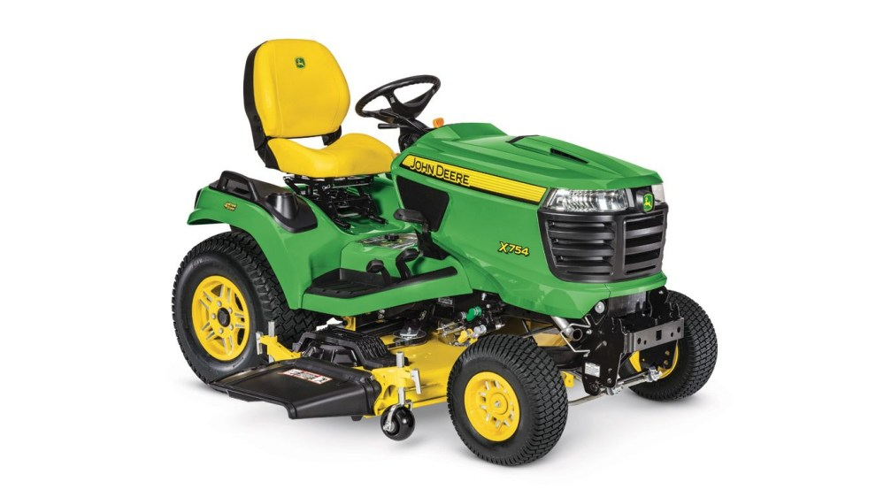 medium resolution of x754 signature series lawn tractor new riding lawn mowers john deere z425 wiring diagram