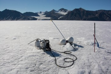 The Heucke steam drill came in handy numerous times throughout this field season.