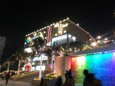 Seasons Mall decorated for Diwali