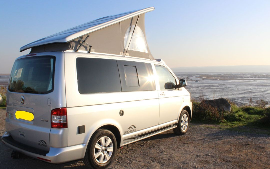 Van at Thurstaston Wirral