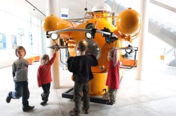 Deutschlands erstes bemanntes Forschungstauchboot