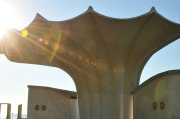 Filigrane Bauwerke wie aus einer anderen Welt