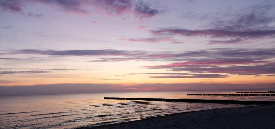 Sonnenuntergang Insel Hiddensee