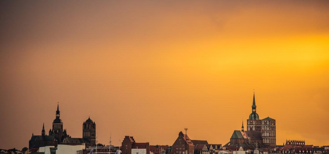 Sonnenuntergang Stralsund Altefaehr