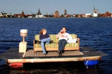 Die 1. Sund-Floß Rallye in Altefähr