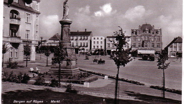 Ein Denkmal in Bergen auf Rügen von 1927  und sein Vermächtnis