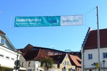 """Finale der NDR–Sommertour mit """"2raumwohnung"""" in Bergen"""