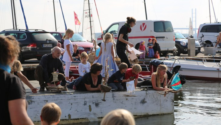 Treibholz-Boot-Regatta in Altefähr
