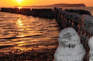 Rügen im Winter:  Wir sind Vorfreude. . . auf Schnee