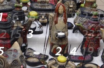 Adventskalender 5. Dezember 2014: Weihnachtsmarkt im Klosterhof mit Kunstausstellung