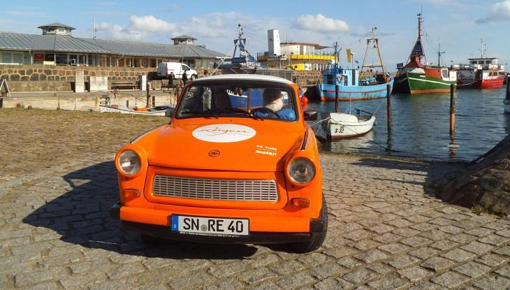 Programm-Tipp: Nordtour unterwegs mit eTrabis auf Rügen