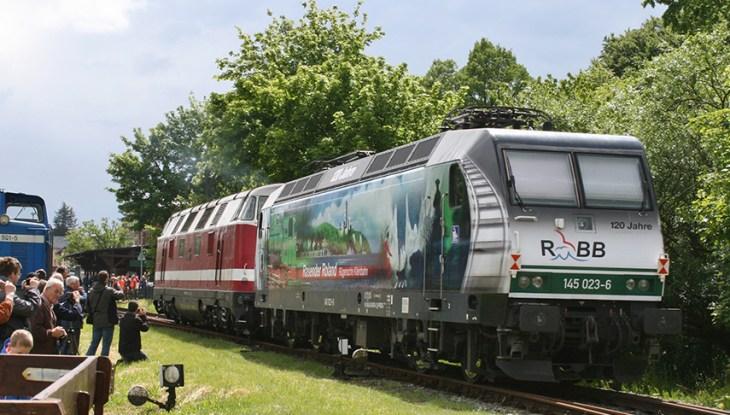 Großes Bahnhofsfest in Putbus – ein Rückblick
