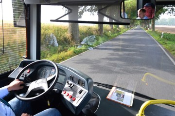 Positiv unter Strom: Insel Rügen testet Elektro-Bus