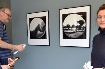 """""""Meine Welt"""", eingefangen mit der Camera obscura"""
