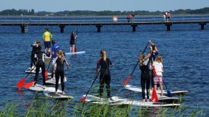 Stand Up Paddling bei den Ruegenpiraten
