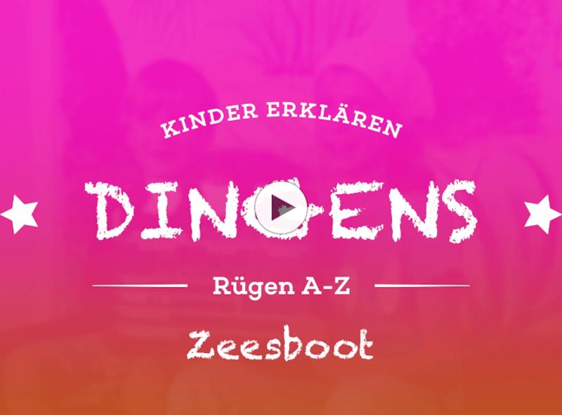 """""""Dingens – Rügen von A bis Z"""": Z wie Zeesboot"""