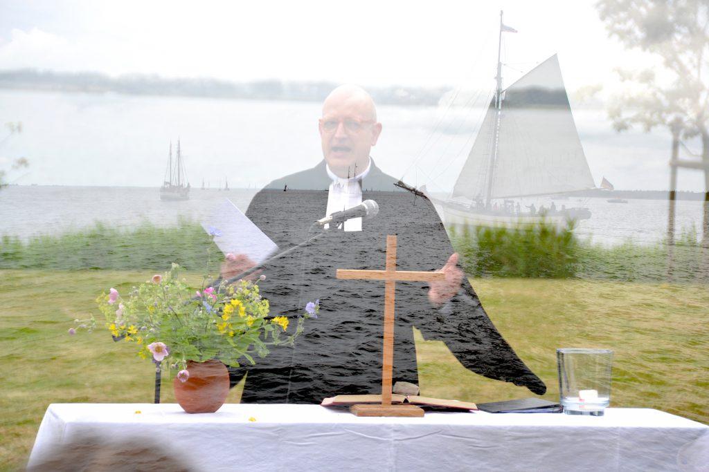 hv Uferpredigt Pfarrer Christian Ohm