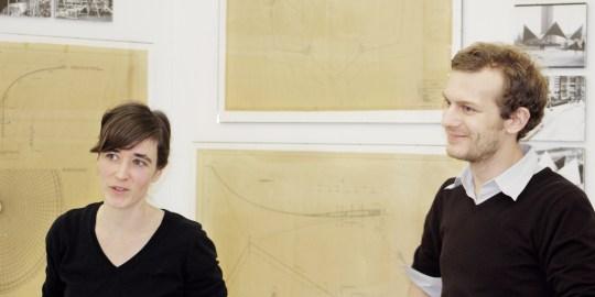 Zwei Schweizer und Ulrich Müther, der Landbaumeister von Rügen
