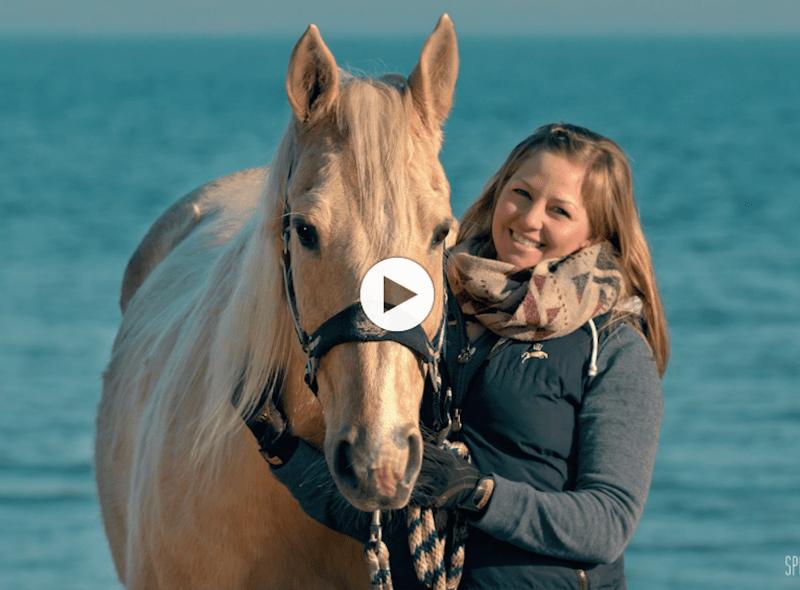 Sportfreunde Rügen: Reiterin Jana