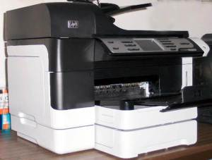 HP Officejet 8500 Premium as tested 2