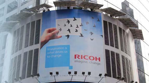 Ricoh billboard