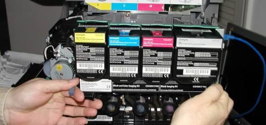 Lexmark 548dte toner assembly