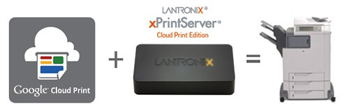 Lantronix xPrintServer – Cloud Print Edition for Android and