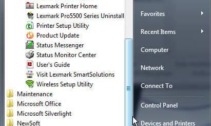 Windows Start Menu