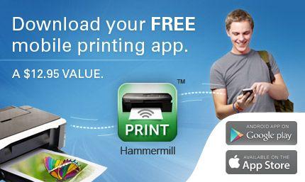 Hammermill Print App 2