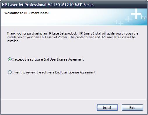 HP Smart Install