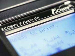 new kyocera ecosys p7040cdn desktop color printer with airprint