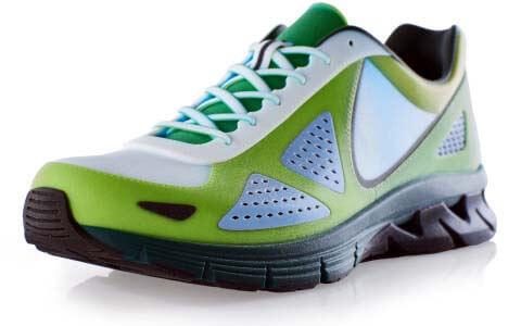 stratasys 3d-printed shoe