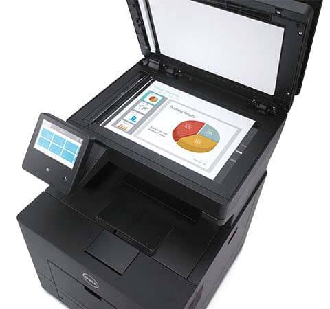 Dell Color Smart Multifunction Printer - S3845cdn