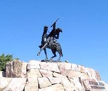 William F. Cody memorial