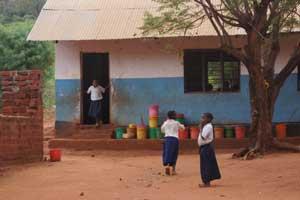 Die Schule in Milingano