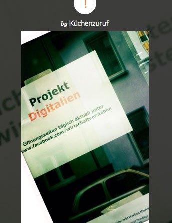 Steller vom Projekt Digitalien