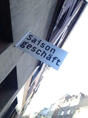 Das Saisongeschäft in der Körnerstraße wird für zwei Monate zum Projekt Digitalien.