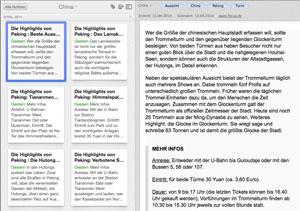 Screenshot Evernote
