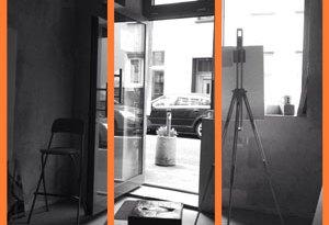 Projekt Digitalien. Mit der App Camera BW fotografiert und mit Moldiv zusammengesetzt.