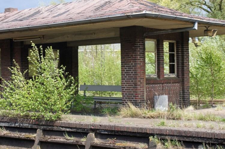 Bahnhof in Sande